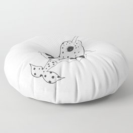 Narwhal and Friends Floor Pillow