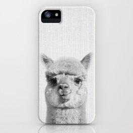 Alpaca headshot iPhone Case