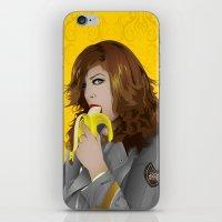mac iPhone & iPod Skins featuring Mac Gie by Edu Gerbi