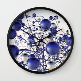 Fantasy flowers Wall Clock