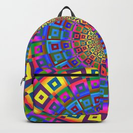 Square Dimensions Backpack