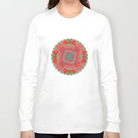 poppies Long Sleeve T-shirts featuring Poppies by Imagology