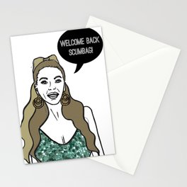 Welcome Back Scumbag Stationery Cards