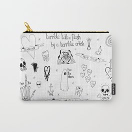 Terrible tattoo flash Carry-All Pouch