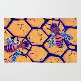 Drought Bees Rug