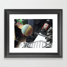 One Man's Trash, Part III Framed Art Print