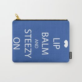 Lip Balm and Steezy On Carry-All Pouch