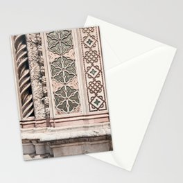 Duomo Tiles / Orvieto, Italy Stationery Cards