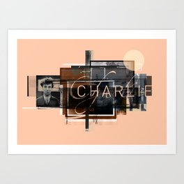"""Charlie Two"" Graphic Art Print Art Print"