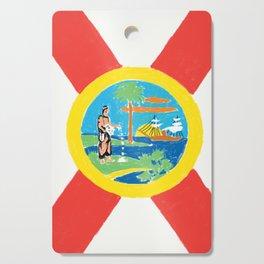 Florida State Flag Cutting Board