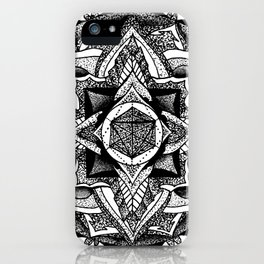 Mandala Circles iPhone Case