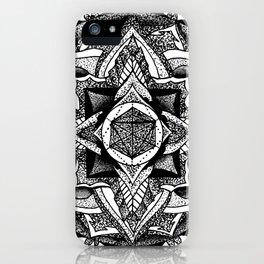 Mandala Circles iPhone Case