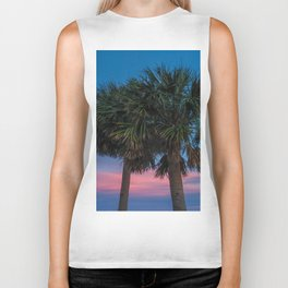 Sunset Palms Biker Tank