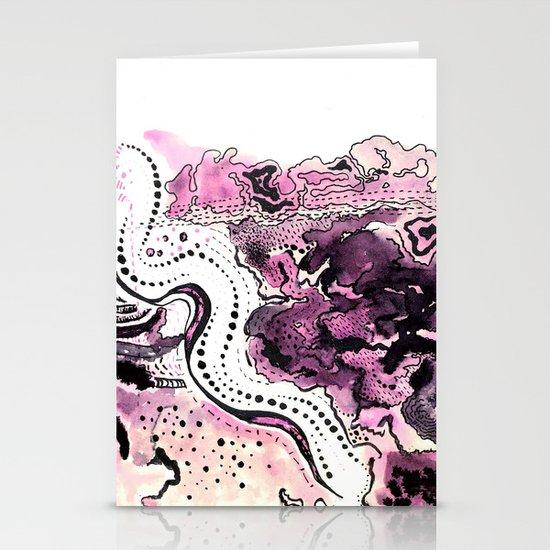 Crazy Pink Stationery Cards