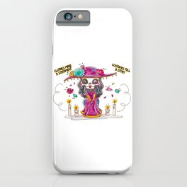 Clothes Make A Statement, Costumes Tell A Story iPhone Case