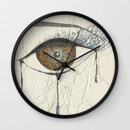 Sad Eye Wall Clock