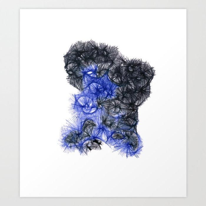 Muskah 2 Art Print