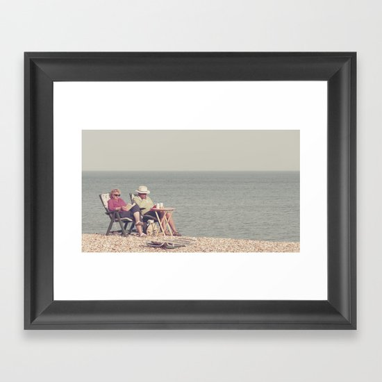 i know it's out of fashion and a trifle uncool... Framed Art Print