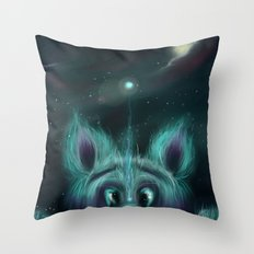 The Universe Creature Throw Pillow
