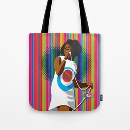 Gladys Subway Soul by Dawn Carrington Tote Bag