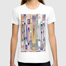 LicensePlates T-shirt