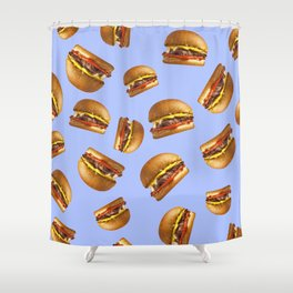 Just Hamburgers Shower Curtain