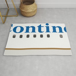 Plane Tees - Continental Airlines Rug