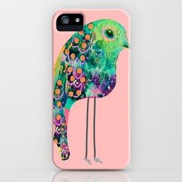 thr boho rainbow bird iPhone Case