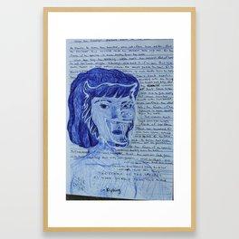 female of the species Framed Art Print