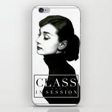 Class in Session iPhone & iPod Skin