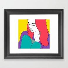 FIONA APPLE Framed Art Print