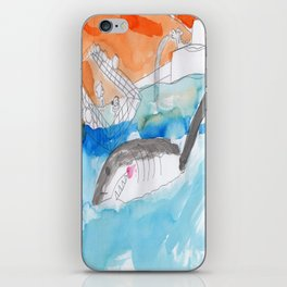 Shark Watch iPhone Skin