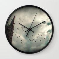 vienna Wall Clocks featuring Vienna 04 by Mi Nu Ra