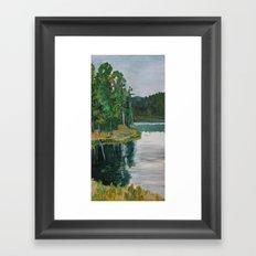 Sheridan Trees Framed Art Print