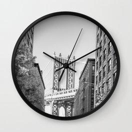 Exploring Brooklyn Wall Clock