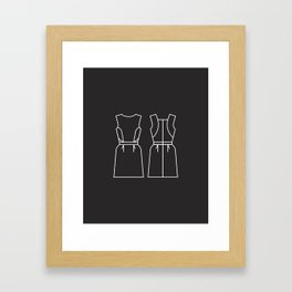 FW15: Catherine Framed Art Print