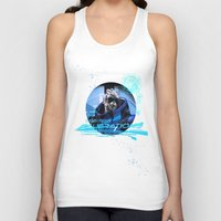 garrus Tank Tops featuring Garrus Vakarian with shades by TheEmbraced