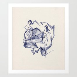 Together. Art Print