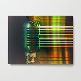 Voices Carry Metal Print