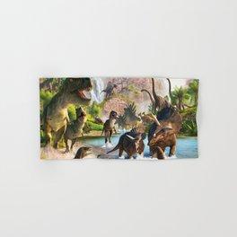 Jurassic dinosaur Hand & Bath Towel