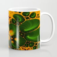 fractal Mugs featuring Fractal  by Karl-Heinz Lüpke