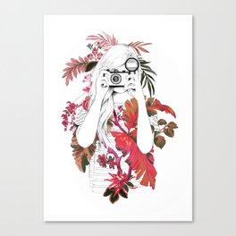 tropical photo Canvas Print