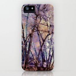 Trees are Poems That the Earth Writes Upon the Sky iPhone Case