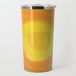 Sun above purple Sky Travel Mug