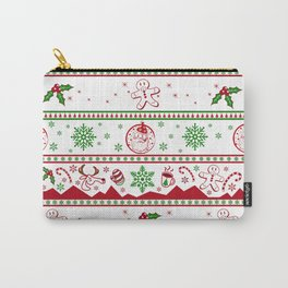 Santa babe red & green Carry-All Pouch
