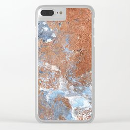 Piece of Mars Clear iPhone Case