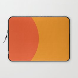 Orange Rising Laptop Sleeve