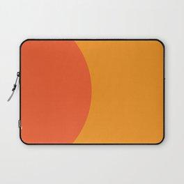 Orange Rising Laptop Sleeve
