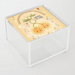 United in love Acrylic Box