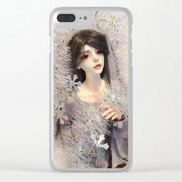 Kallias - Winter Doll Clear iPhone Case